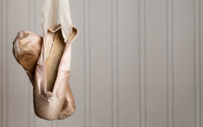 Hanging up your dance shoes